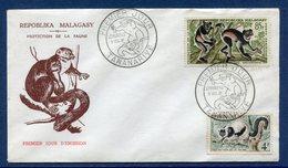 Madagascar - FDC - Premier Jour - Protection De La Faune - Tananarive - 1961 - Madagascar (1960-...)