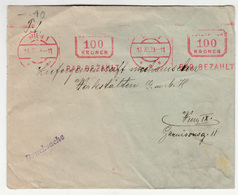 Austria, Letter Cover 1923 Meter Stamp B200520 - Cartas