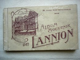 22 LANNION Album Souvenir 18 Cartes Postales Anciennes - Lannion