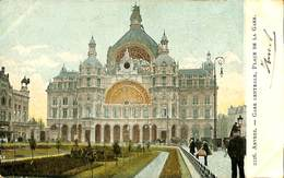027 504 - CPA - Antwerpen - Anvers - Gare Centrale - Antwerpen