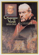 St.Vincent Grenadines 2001  Guiseppe Verdi  Michel Bl.552  MNH 27660 - Musique