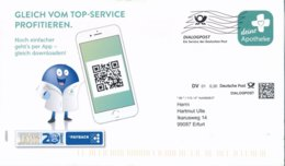 BRD / Bund Erfurt Dialogpost DV 01 0,30 Euro FRW 2020 Deine Apotheke Handy Payback Pharmazie - Covers