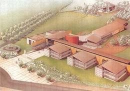 ¤¤   -  BOUAYE   -   Le Lycée Public   -  Projet De L'Atelier D'Architecture  -  Ouvert En 1997   -   ¤¤ - Bouaye
