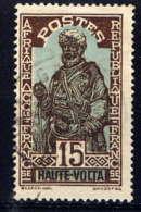 HAUTE VOLTA  - 48° - CHEF - Haute-Volta (1920-1932)