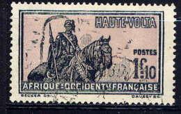 HAUTE VOLTA  - 59° - GUERRIER A CHEVAL - Haute-Volta (1920-1932)