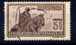 HAUTE VOLTA  - 63° - GUERRIER A CHEVAL - Haute-Volta (1920-1932)