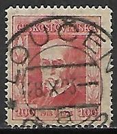 TCHECOSLOVAQUIE   -   1923.   Y&T N° 189 Oblitéré - Used Stamps