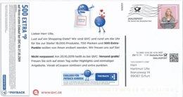 BRD / Bund München Dialogpost DV 10.19 0,28 Euro FRW 2019 Frau QVC Payback - Covers