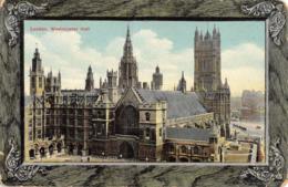 R370013 London. Westminster Hall. Tuck. Framed Charmette Postcard 906. London - Cartes Postales