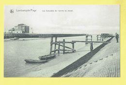 * Lombartzyde - Lombardsijde (Nieuwpoort - Kust - Littoral) * (Nels) Estacades De L'entrée Du Chenal, Pier, TOP - Nieuwpoort