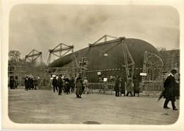 PHOTO FRANÇAISE - BALLON SAUCISSE PRIS AUX ALLEMANDS ET EXPOSÉ PLACE DE LA CONCORDE A PARIS - GUERRE 1914 1918 - 1914-18