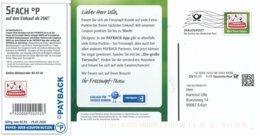 BRD / Bund München Dialogpost DV 03.20 0,30 Euro FRW 2020 Katze Hund Fressnapf Payback - Covers