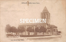 Eglise Saint-Pierre -  Melle - Melle