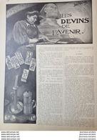 1909 LES DEVINS DE L'AVENIR - TAROT - MIROIRS MAGIQUES -  INCARNATIONS - LOUIS MALTESTE - LA SORCIÈRE DU MONT VENTOUX - - Books, Magazines, Comics
