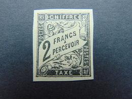 Magnifique N°. 13(*) Des Taxe Au Type Duval De L'émmission Des Colonies Générales - Portomarken