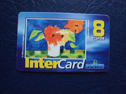 Carte Prépayée:intercard 8e  Dauphin Teleco - Antillen (Frans)
