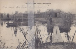 CPA  LABRUYERE  LES ETANGS - France