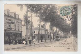 RT33.549  LE PERREUX.VAL-DE- MARNE.BOULEVARD  D'ALSACE-LORRAINE.TRAMWAY.AU HAMEAU DE L'EPARGNE.BILLARD.N°219 E. FACIOLLE - Le Perreux Sur Marne