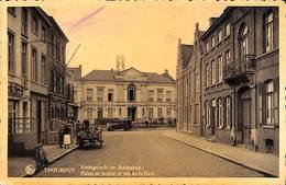 Torhout Thourout - Vredegerecht En Statiestraat (animatie Oldtimer) (vaste Prijs) - Torhout