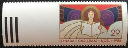140. CANADA 1986 STAMP NOEL , CHRISTMAS. MNH - 1952-.... Règne D'Elizabeth II