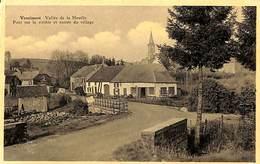 Vencimont - Vallée De La Houille - Pont Sur La Rivière Et Entrée Du Village (prix Fixe) - Gedinne