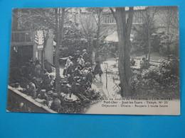 """37 ) Joué-les-tours  Pont-cher  N°100  Dans Les  Jardins Du TOURING-CULB-HOTEL """" Déjeuners Diners Soupers : EDIT Boucher - Autres Communes"""