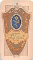 """¤¤   -   Carte Parfumée   -  Parfum """" COROLLIS """"   -  """" Gellé Frère """"  Paris   -  Voir Dimension   -   ¤¤ - Vintage (until 1960)"""