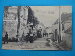 37 ) Joué-les-tours  Pont-cher  N°612  Hotel-café-restaurant Du Bois-joli - Gripon-froger Propriétaire : EDIT - Autres Communes