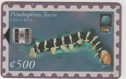 COSTA  RICA -  Pseudosphinx Tetrio (2nd Edition), Tirage 135,000, 01/99, Used - Costa Rica