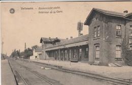 Selzaete ,( Zelzate ), Binnenzicht  Statie , Intérieur De La Gare , ( Station , Quai ) Edit Hermans  Anvers - Zelzate