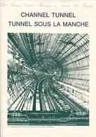 Great Britain Mi# 1513-6 + France 3623-6 FDC - Channel Tunnel - FDC