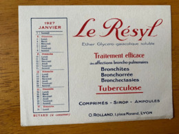 1 BUVARD LE RESYL - Produits Pharmaceutiques