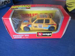 "Camel - Peugeot 205 ""Safari"" - Burago Cod. 0116 - Burago"