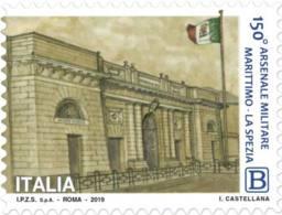 Italia - 2019 - Usato/used - Arsenale Militare Marittimo Di La Spezia - 6. 1946-.. Repubblica
