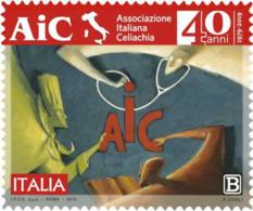 Italia - 2019 - Usato/used - Associazione Italiana Celiachia - 6. 1946-.. Repubblica