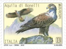 Italia - 2019 - Usato/used - Europa - Aquila Di Bonelli - 2011-...: Afgestempeld