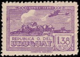 ✔️ Uruguay 1939 - Airmail - Mi. 598 ** MNH - €12 - Uruguay