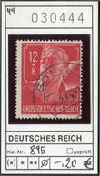 Deutsches Reich - Michel 895  - Oo Oblit. Used Gebruikt - Used Stamps