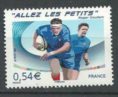 "FR YT 4032 "" Rugby, Allez Les Petits "" 2007 Neuf** - France"