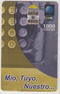 COSTA  RICA -  Mio, Tuyo, Nuestro... (3rd Edition), Tirage 40,000, 03/00, Used - Costa Rica