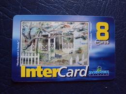 Carte Prépayée:intercard 8e  Dauphin Telecom - Antilles (French)