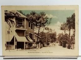 44 - SAINT BREVIN L'OCEAN - AVENUE DES CHALETS - Ed HOUGAROUX - ANIMÉE - 1947 - Saint-Brevin-l'Océan