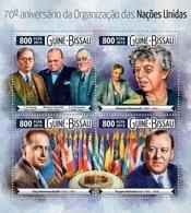 GUINEA BISSAU 2015 - UNO, D. Hammarskjold - YT 6084-7, CV=18 € - Dag Hammarskjöld