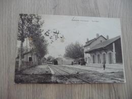 CPA 84 Vaucluse Camaret  La Gare - Camaret Sur Aigues