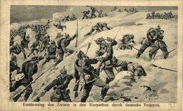 Erstümung Des Zwinin In Der Karpathen 1914/15 WWI WWICOLLECTION - Oorlog 1914-18