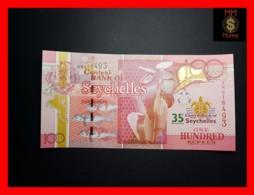 SEYCHELLES 100 Rupees 2013  P. 47 *COMMEMORATIVE* 35th Years  UNC - Seychellen