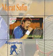 Equatorial Guinea -  MARAT SAFIN - 1 Sheet - Tennis