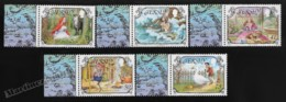 Jersey 2005 Yvert 1205-09, Folklore. Literature. Classic Fairy Tales - Tabs - MNH - Jersey