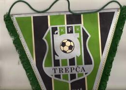 Flag,fanion Football,UEFA ,FC Trepca Kosovska Mitrovica,Kosovo,Serbia,Yugoslavia  - Size26cm/35cm. - Kleding, Souvenirs & Andere