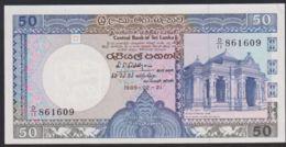 Ref. 3341-3764 - BIN SRI LANKA . 1989. SRI LANKA 50 RUPIAS 1989 - Sri Lanka